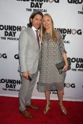 "Hope Davis – ""Groundhog Day"" the Musical in New York 4/17/2017"
