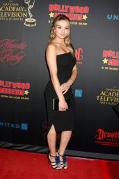 Hunter King - NATAS Daytime Emmy Nominees Reception in Los Angeles 04/26/2017