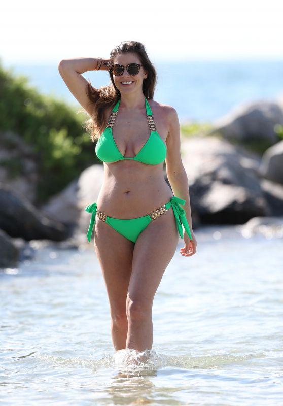 Imogen Thomas Bikini Pics - Miami Beach 4/1/2017