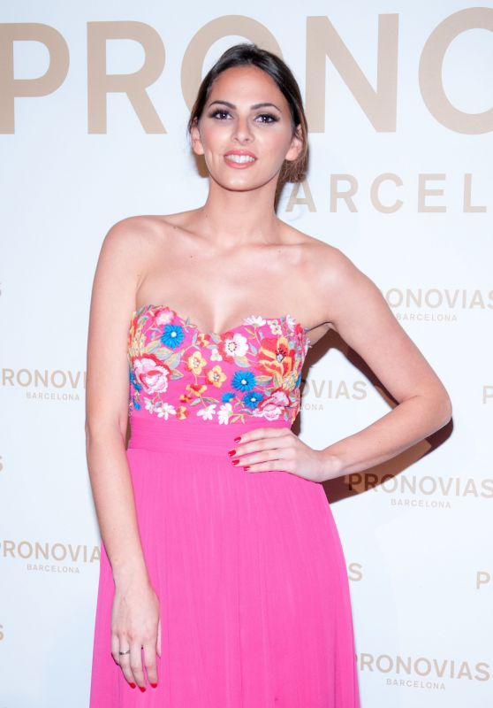 Irene Rosales – Barcelona Photocall at the Pronovias Catwalk Show 04/28/2017