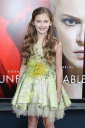 "Isabella Kai Rice – ""Unforgettable"" Premiere in LA 4/18/2017"