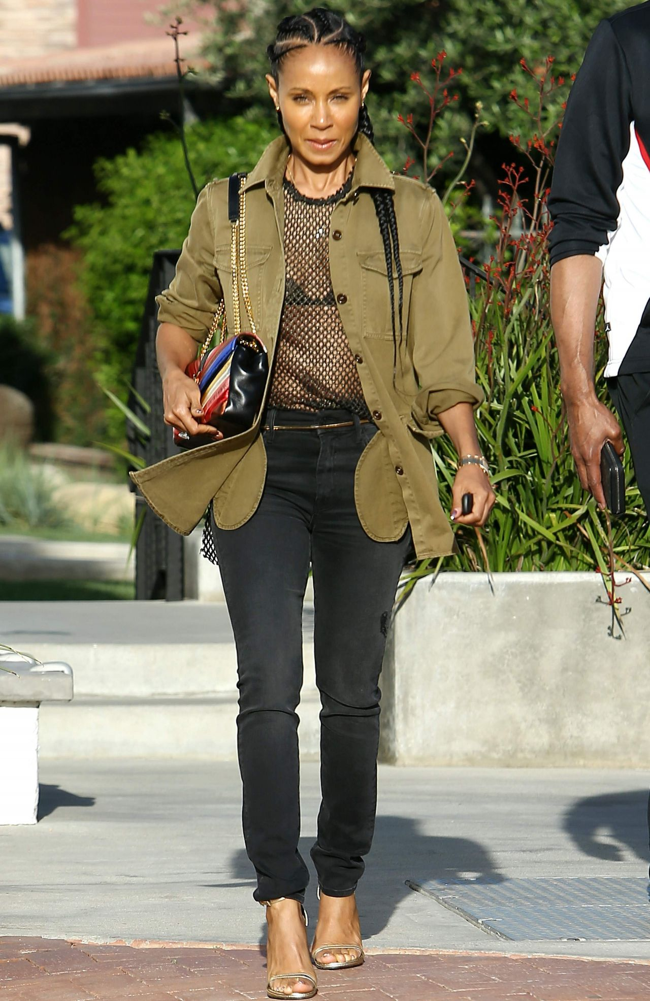 Jada Pinkett Smith In Casual Attire Out In Los Angeles 4