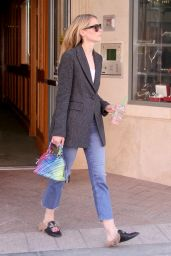 Jaime King Street Style - Out in Beverly Hills 4/10/2017
