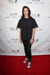 "Jami Gertz - ""Let It Fall: Los Angeles 1982-1992"" TV Show Premiere in Los Angeles"