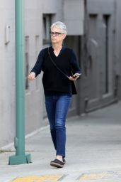 Jamie Lee Curtis Casual Style - Beverly Hills 4/10/2017
