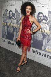 """Jasmin Savoy Brown at """"The Leftovers"""" Season 3 Premiere in Hollywood 4/4/2017"""
