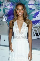 Jasmine Tookes - The Fragrance Foundation Awards Finalist's Luncheon in NYC, April 2017