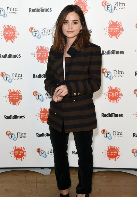 Jenna-Louise Coleman - BFI Radio Times TV Festival in London 4/8/2017