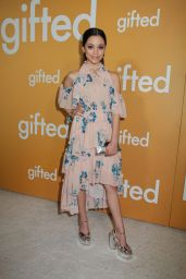 """Jenna Ortega at """"Gifted"""" Premiere in Los Anegeles 4/4/2017"""