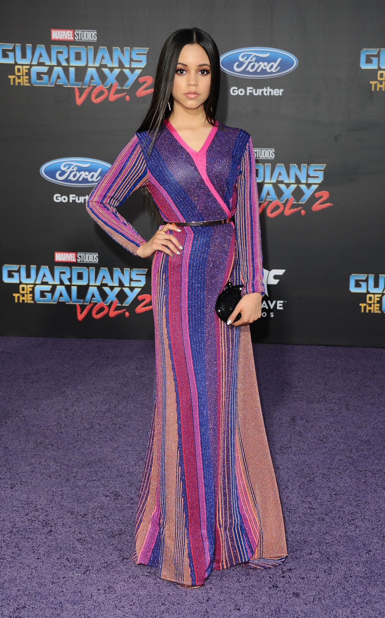 Jenna Ortega - Guardians Of The Galaxy Vol 2 Premiere In Los Angeles-1321