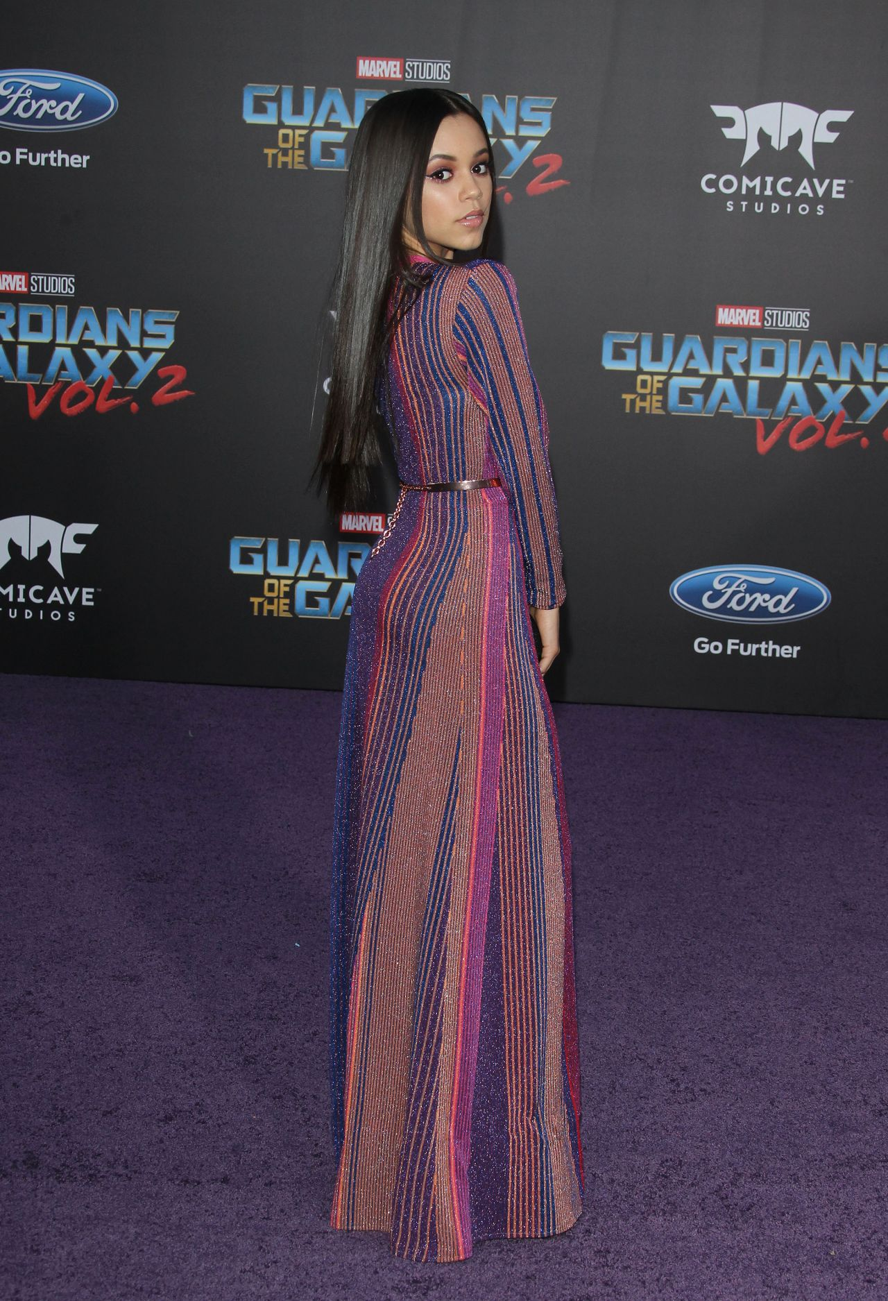 Jenna Ortega - Guardians Of The Galaxy Vol 2 Premiere In Los Angeles-4048