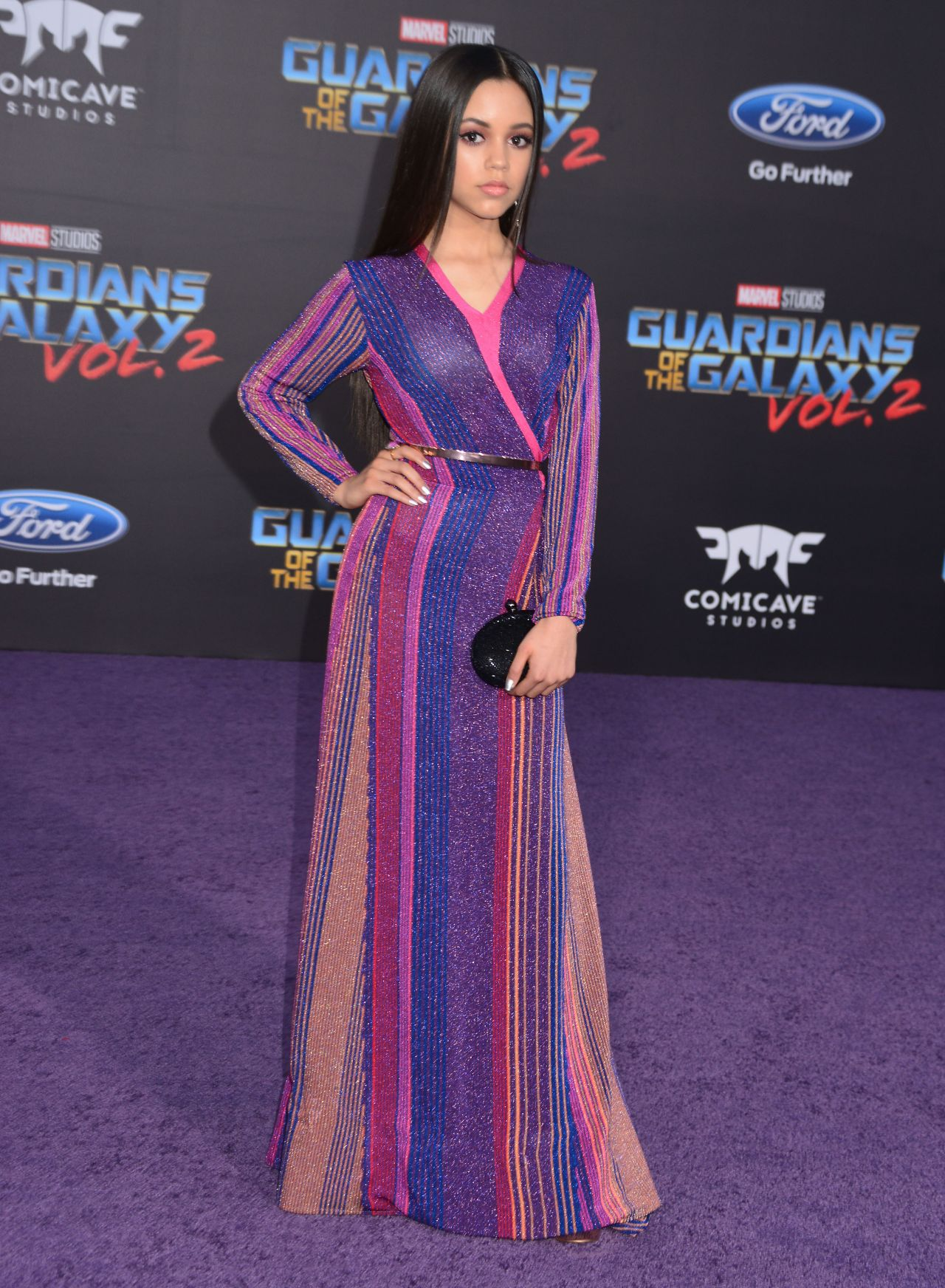 Jenna Ortega - Guardians Of The Galaxy Vol 2 Premiere In Los Angeles-4679