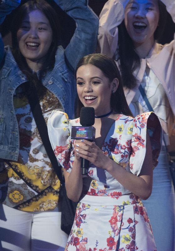 Jenna Ortega on Stage at 2017 Radio Disney Music Awards in LA