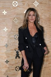 Jennifer Aniston at Louis Vuitton Dinner Party, Louvre in Paris 4/11/2017