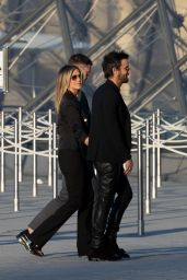 Jennifer Aniston at the Louis Vuitton Dinner Party in Paris 4/11/2017