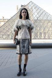 Jennifer Connelly at Louis Vuitton Dinner Party, Louvre in Paris 4/11/2017