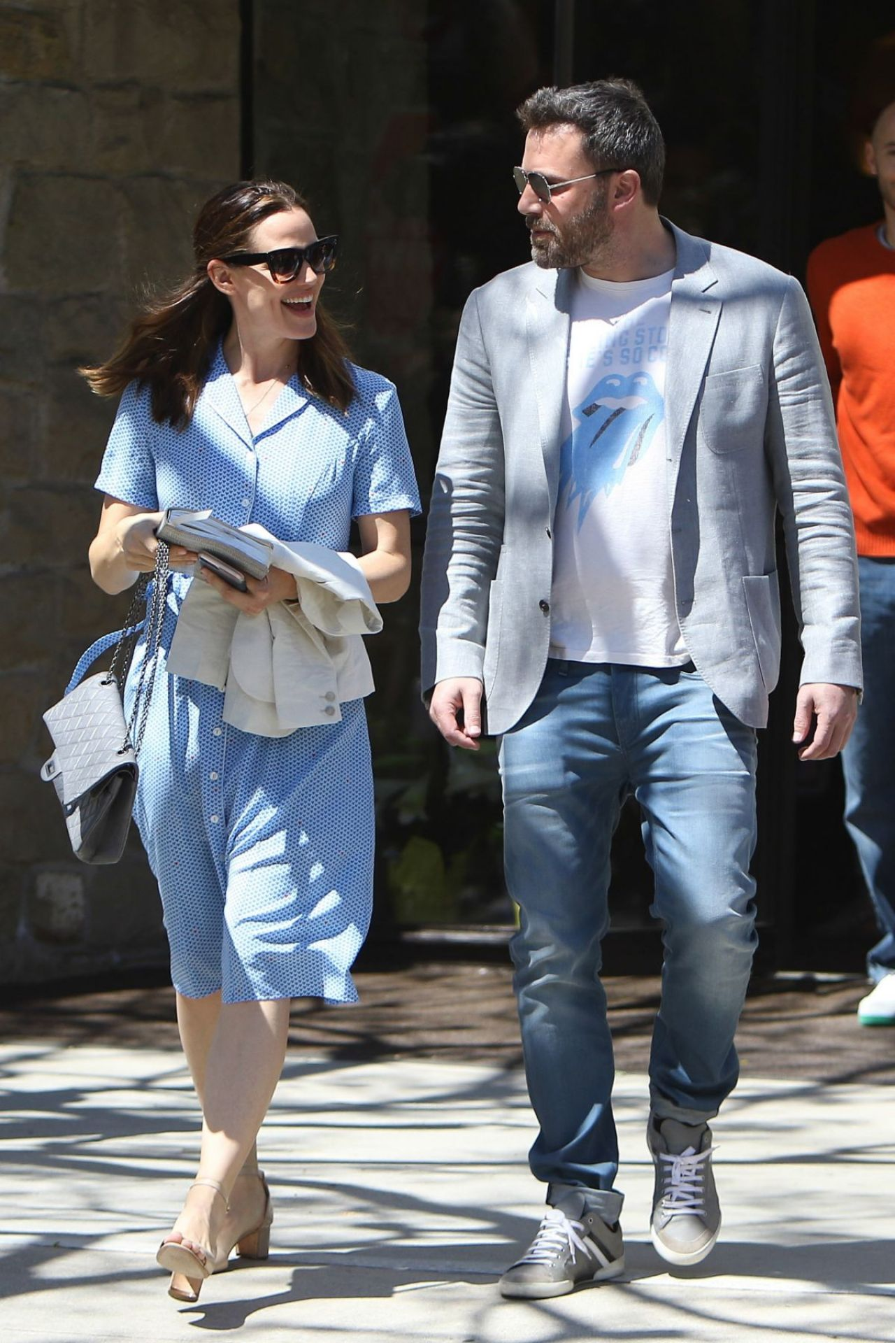 Jennifer Garner and Ben Affleck Goes to Church in Pacific ...