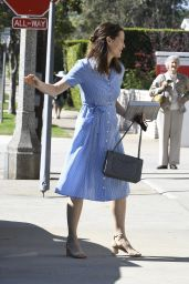 Jennifer Garner and Ben Affleck Goes to Church in Pacific Palisades 4/16/2017