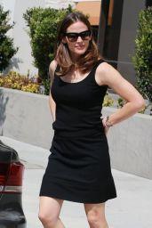 Jennifer Garner in Black Mini Skirt - Brentwood 4/11/2017