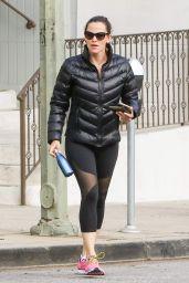 Jennifer Garner in Spandex - Out in Los Angeles 4/7/2017