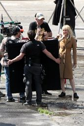 """Jennifer Lawrence - """"Red Sparrow"""" Set in Slovakia 04/25/2017"""