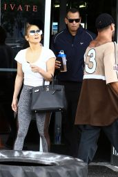 Jennifer Lopez and Alex Rodriguez in Miami 4/20/2017