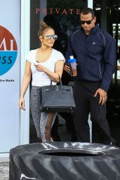 Jennifer Lopez and Alex Rodriguez in Miami 4/20/2017