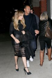 Jennifer Lopez and Alex Rodriguez Night Out in NYC, April 2017