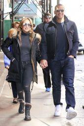 Jennifer Lopez and Alex Rodriguez - SoHo 4/2/2017