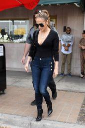 Jennifer Lopez Looks Stylish - Shops With Friends in Miami, April 2017