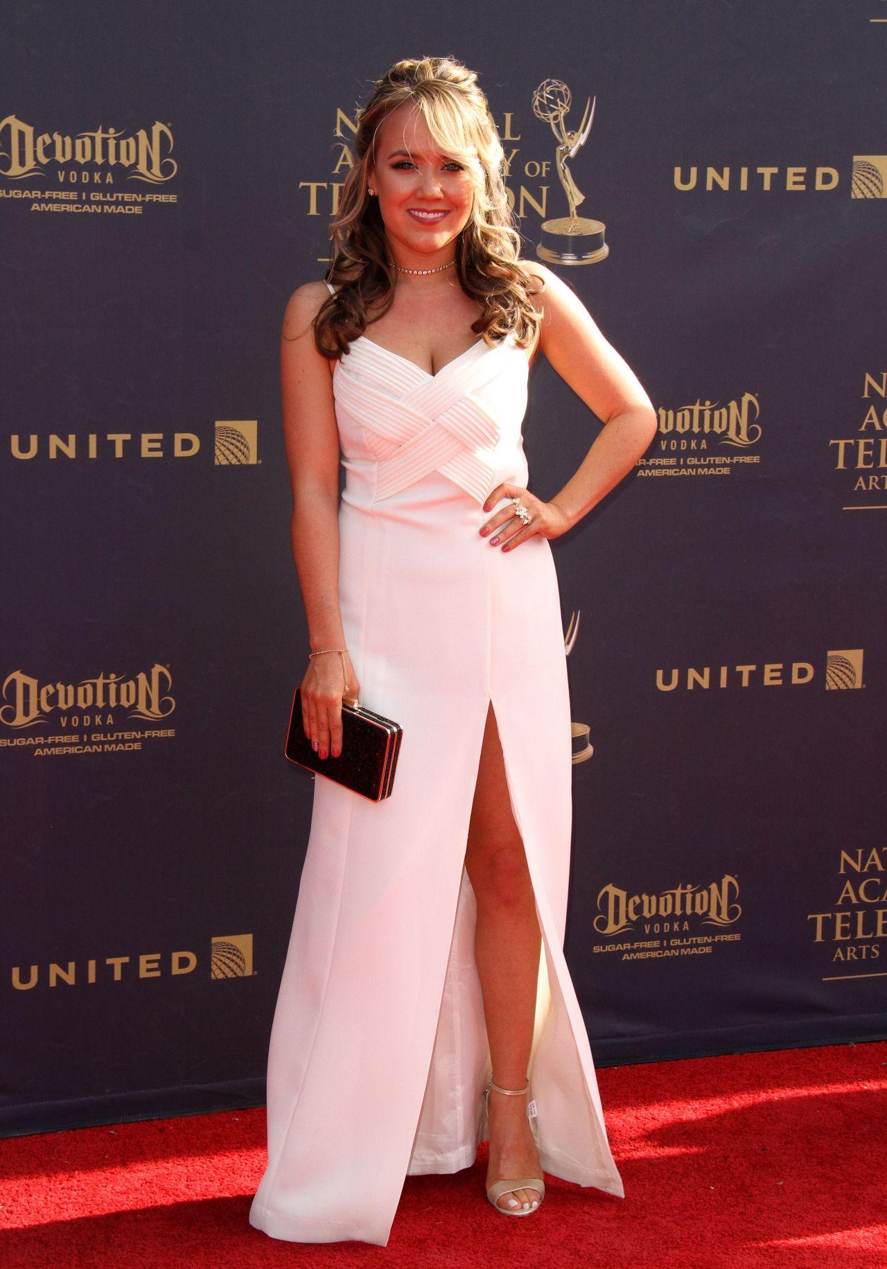 Jennifer Veal on Red Carpet – Daytime Creative Arts Emmy Awards 2017 in Pasadena