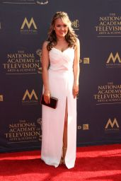 Jennifer Veal on Red Carpet – Daytime Creative Arts Emmy Awards 2017 in Pasadena