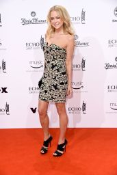 Jenny Elvers at ECHO Music Awards 2017 in Berlin