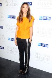 Jessica Alba at American Express Success Makers Summit in NY 4/17/2017