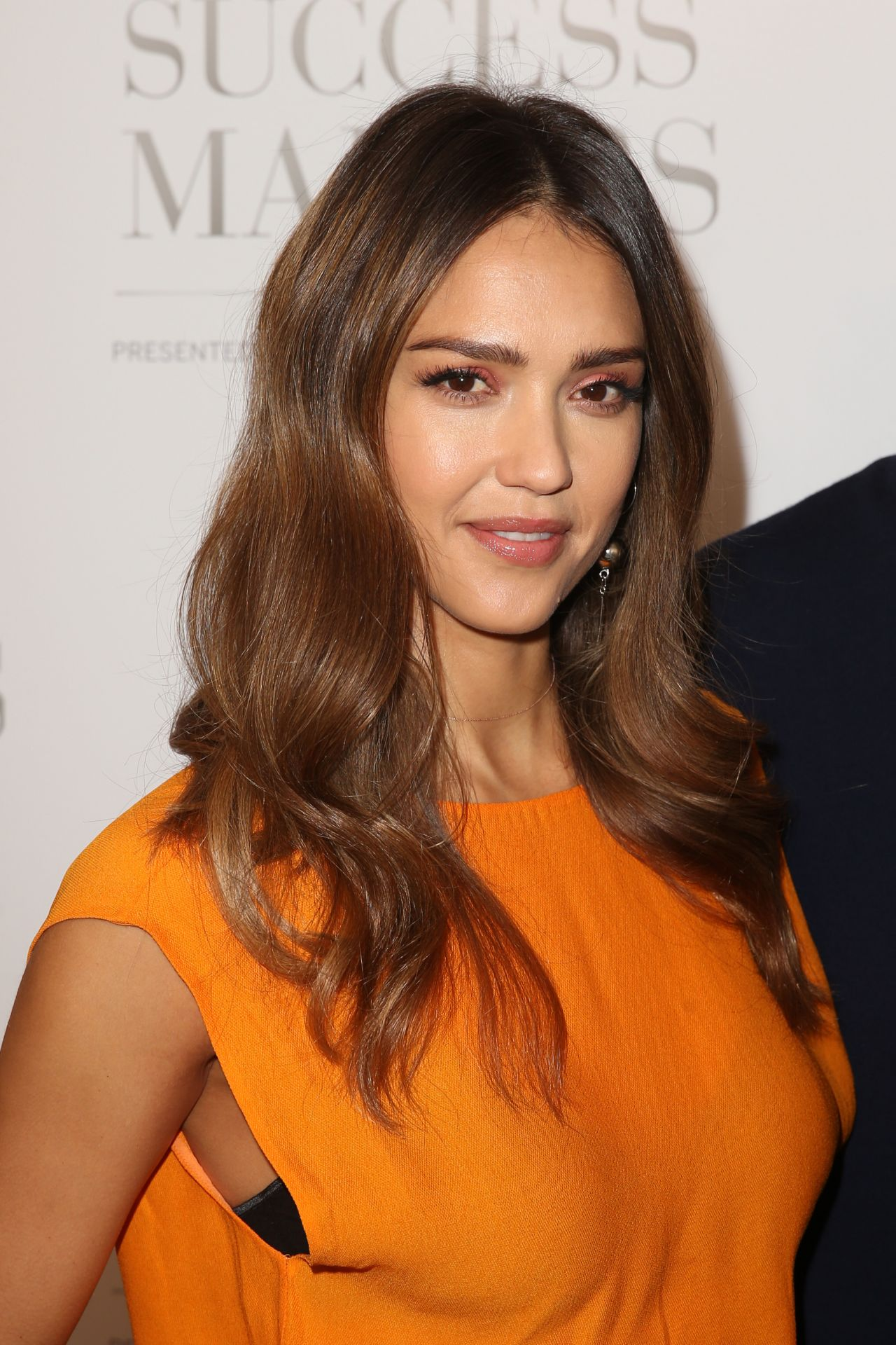 Jessica Alba At American Express Success Makers Summit In
