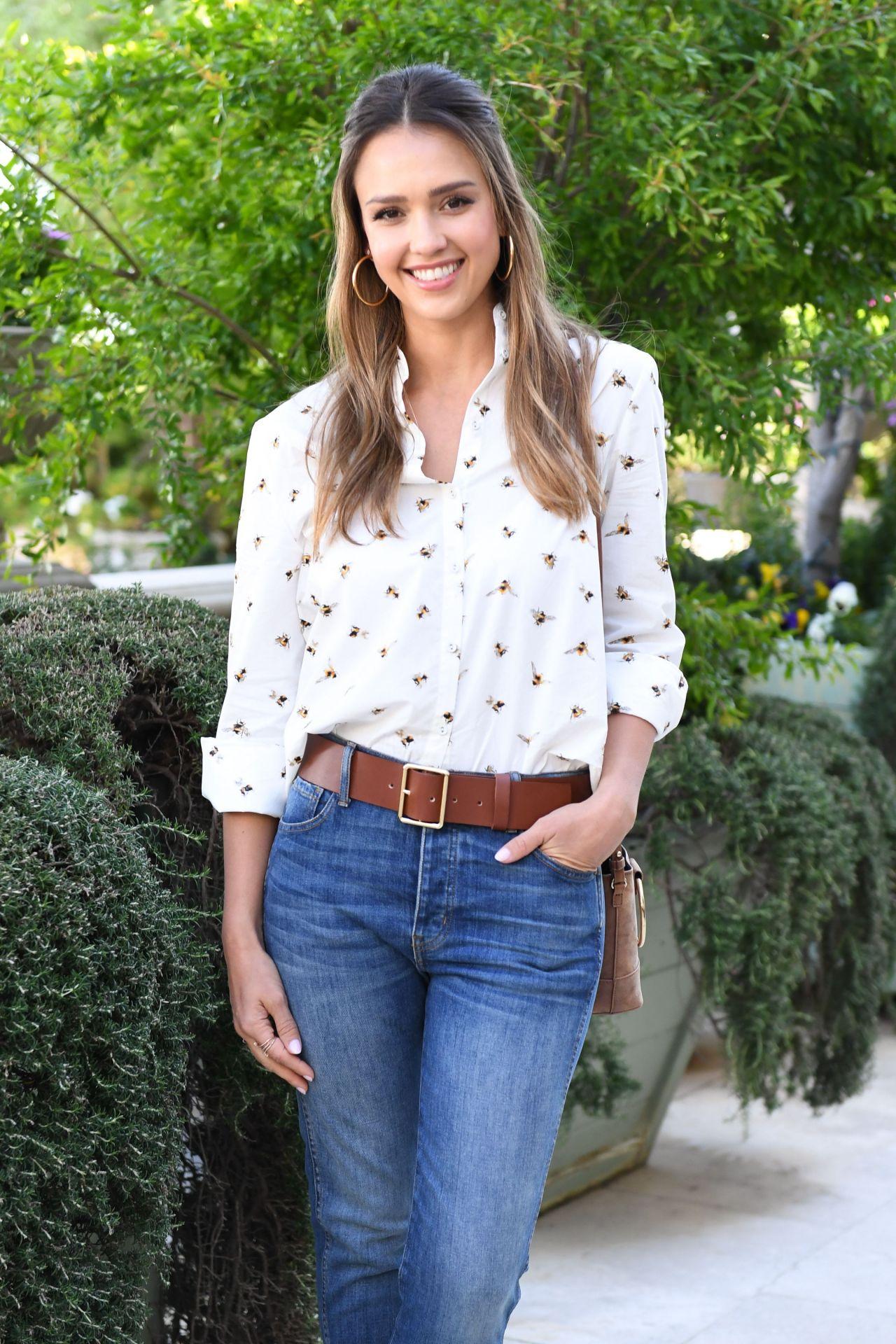 Jessica Alba at Victoria Beckham for Target Garden Party ... Jessica Alba