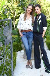 Jessica Alba at Victoria Beckham for Target Garden Party in LA 4/1/2017