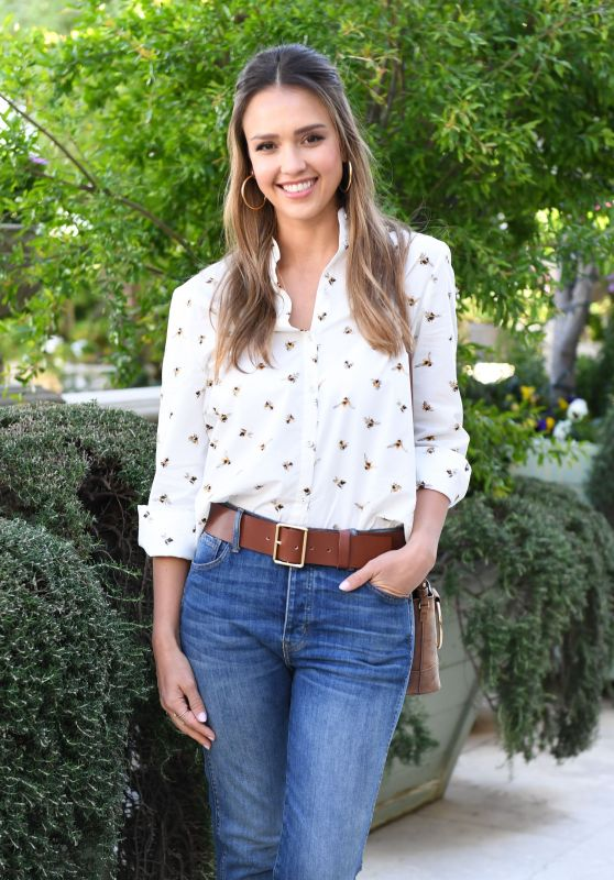 Jessica Alba at Victoria Beckham for Target Garden Party in LA 4/1/2017