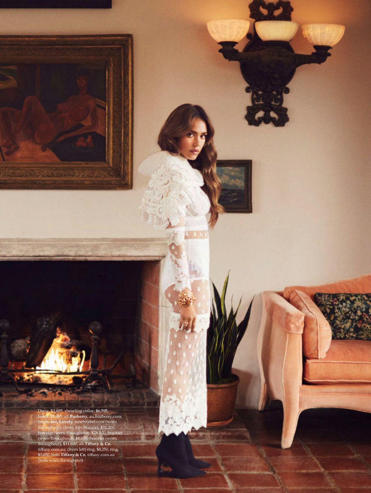 Jessica Alba Elle Magazine Australia May 2017 Issue
