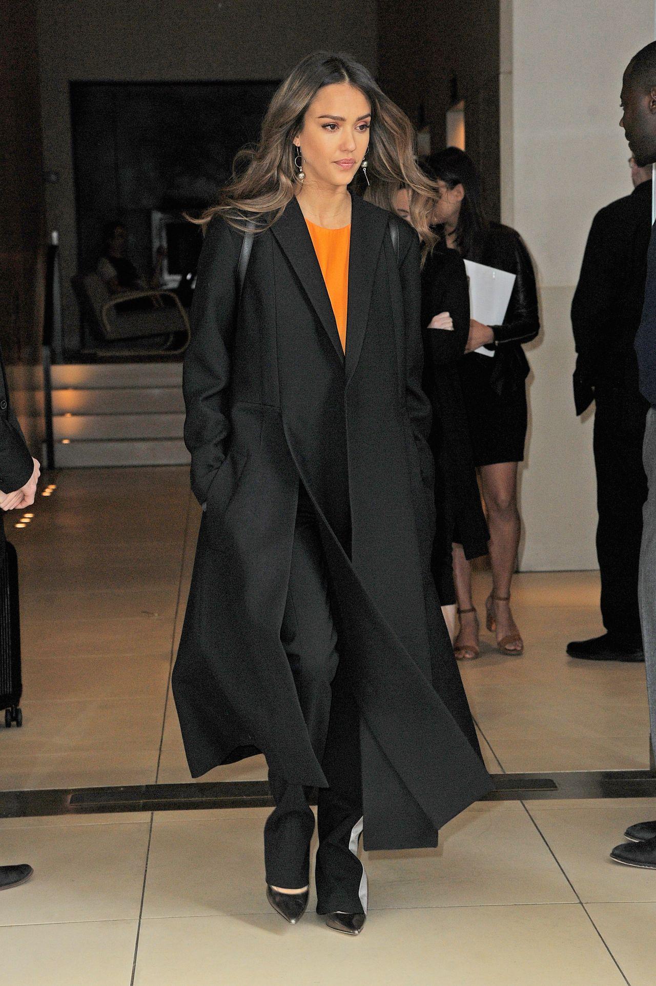 Jessica Alba - Out in Manhattan, New York 4/17/2017