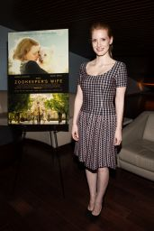 """Jessica Chastain at """"The Zookeeper"""