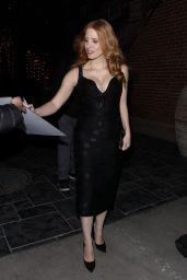 Jessica Chastain - Leaves AMC