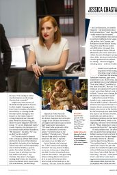 Jessica Chastain - Total Film Magazine June 2017 Issue