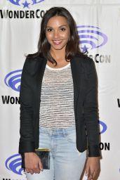 """Jessica Lucas at """"Gotham"""" Panel at WonderCon in Anaheim 4/2/2017"""