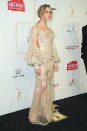 Jessica Marais at TV Week Logie Awards in Melbourne, Australia 4/23/2017