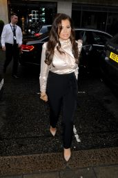 Jessica Wright – Urban Decay VIP Dinner in London, UK 04/24/2017
