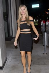 Joanna Krupa at Catch LA Restaurant in West Hollywood - Celebrate Her 38th Birthday 4/21/2017