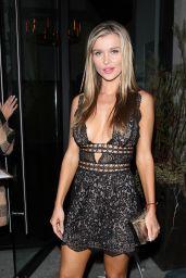 Joanna Krupa Night Out Style - Leaving Catch LA Restaurant 4/6/2017