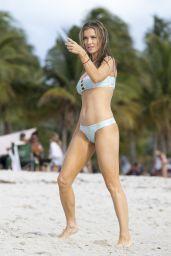 Joanna Krupa Shows Off Her Bikini Body - Beach in Miami 4/12/2017