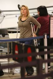 Jodie Sweetin Catching a Flight out of LAX 4/2/2017